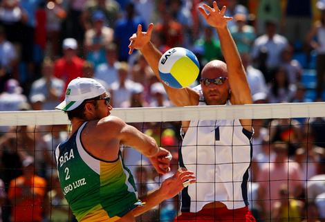 Olympics Day 14 - Beach Volleyball