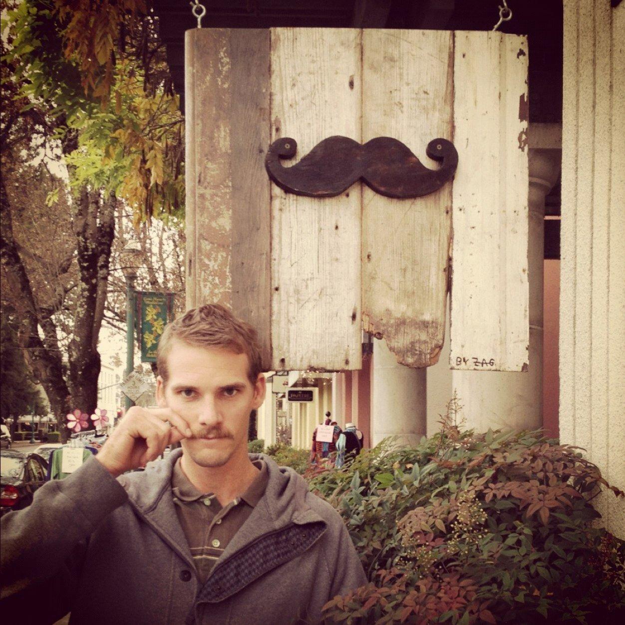 nils mustache